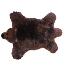 Baby Dan - Bjørn Lammeskind 60x97 cm - Brun bjørn