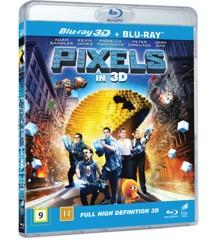 Pixels 3D+2D - Blu ray