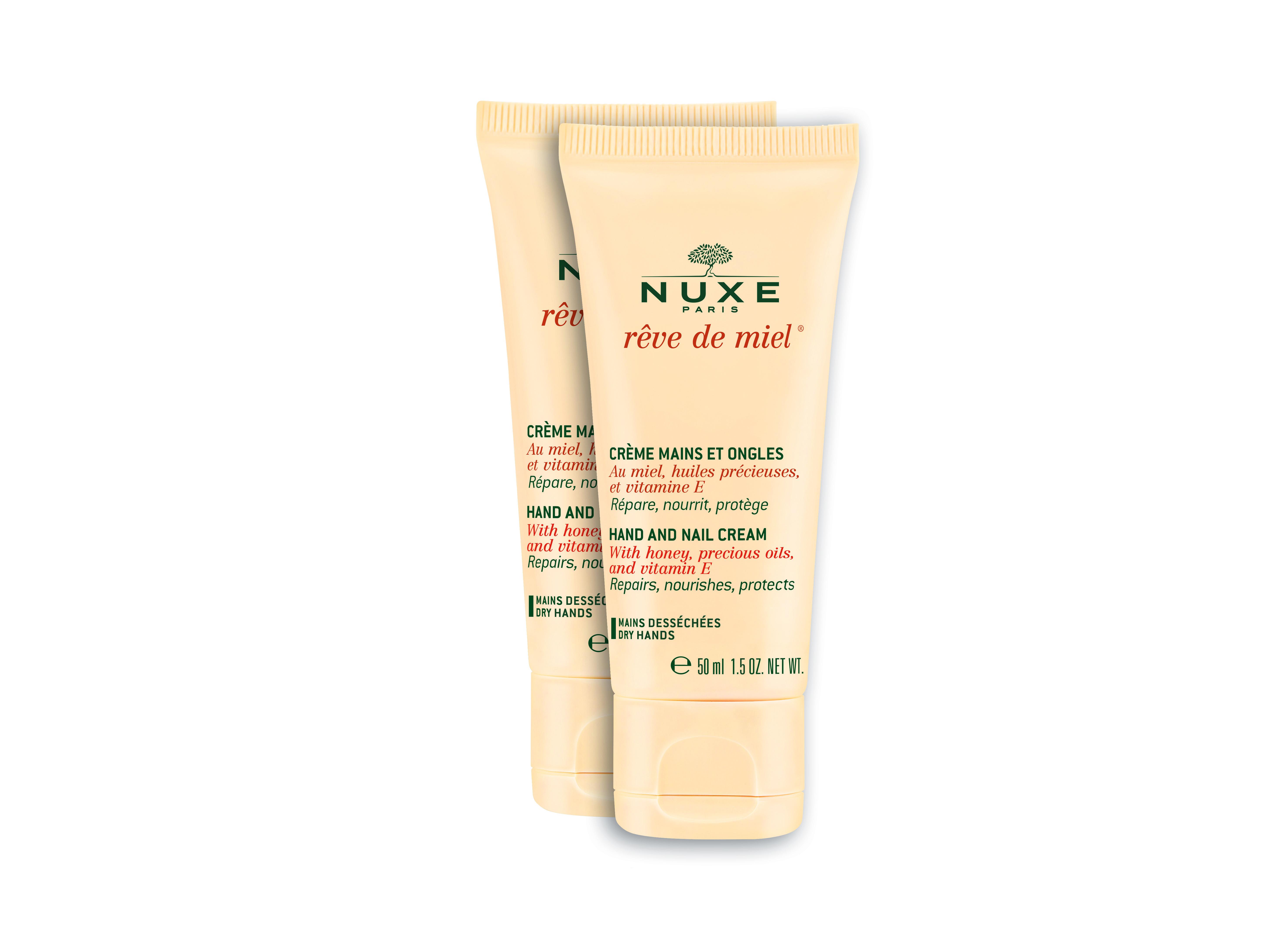 Nuxe - Rêve de Miel Hand and Nail Cream 2x50 ml - Gift Set
