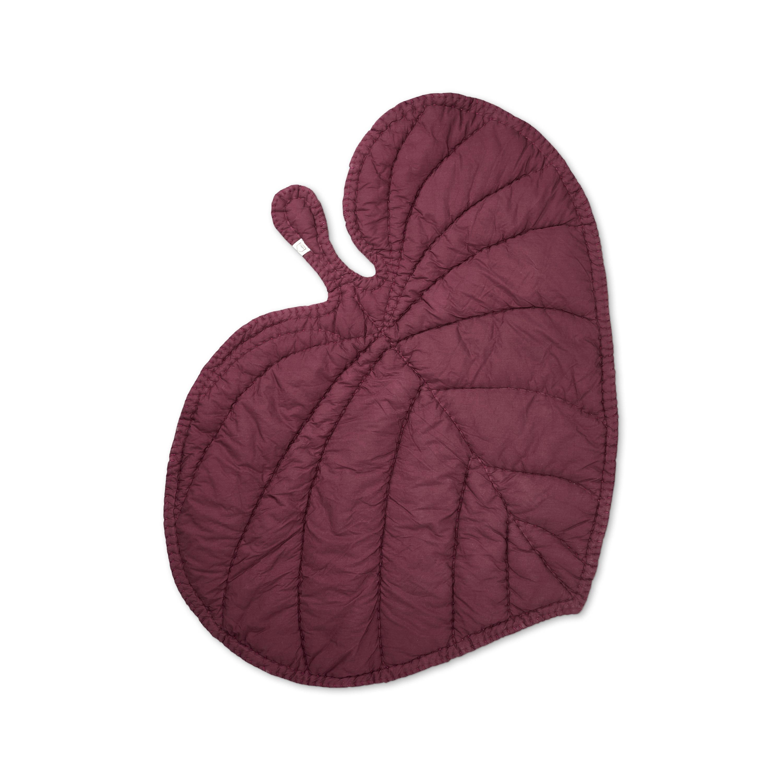 Nofred - Leaf Blanket - Burgundy