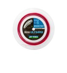 Yonex BG-66 ULTIMAX Badmintonstrenge rød