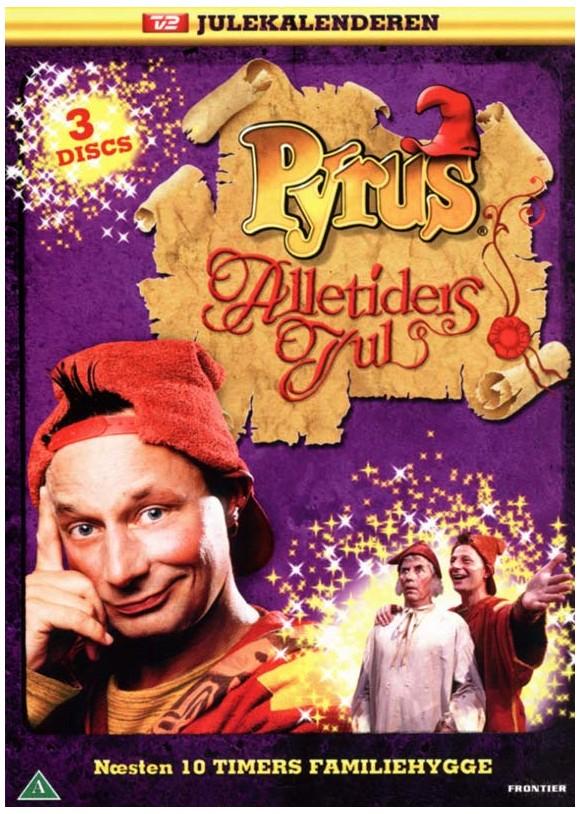 Pyrus i Alletiders Jul (3-disc) - DVD