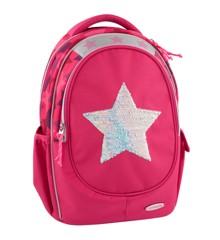 Top Model - Skoletaske - Pink med Stjerne