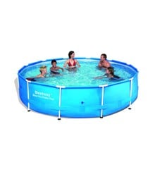 Bestway - Steel Pro Frame Pool 366x76cm with pump (6473L)(56416)
