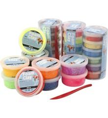 Foam Clay - Verschillende kleuren, 28 doosjes