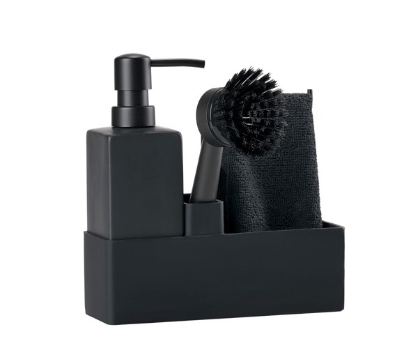 Zone Denmark - Dishwashing Set - Black (330413)