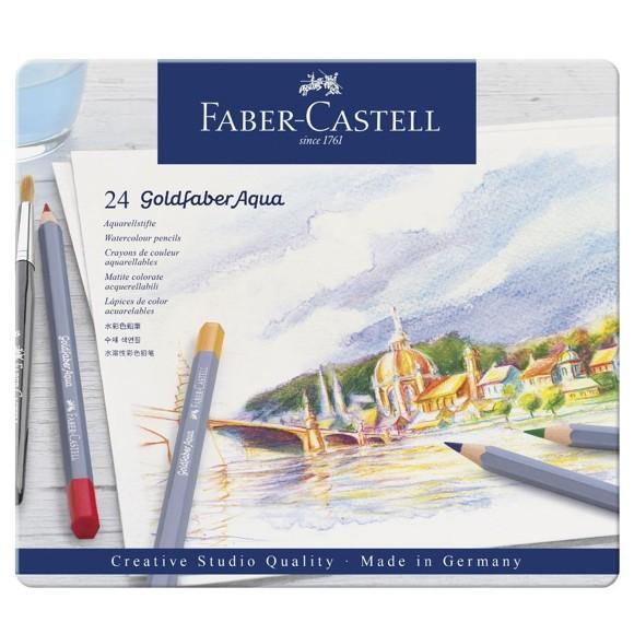 Faber Castell - Goldfaber akvarel tin, 24 pc (114624)