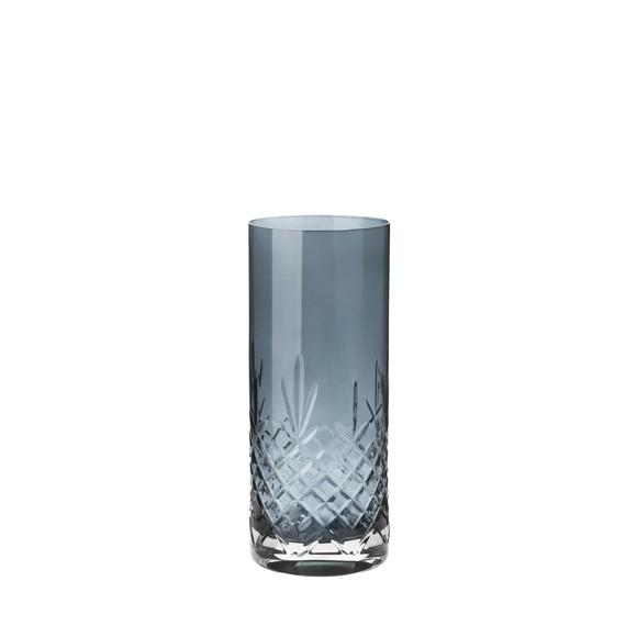 Frederik Bagger - Crispy Sapphire Love 1 Crystal Vase (10391)