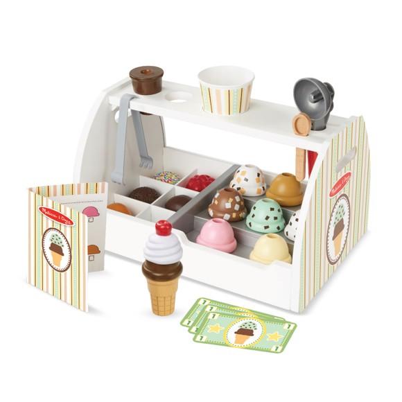 Melissa & Doug - Wooden Ice Cream Counter (19286)