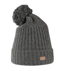 Melton - Lamb Wool Rib Hat w. Pom