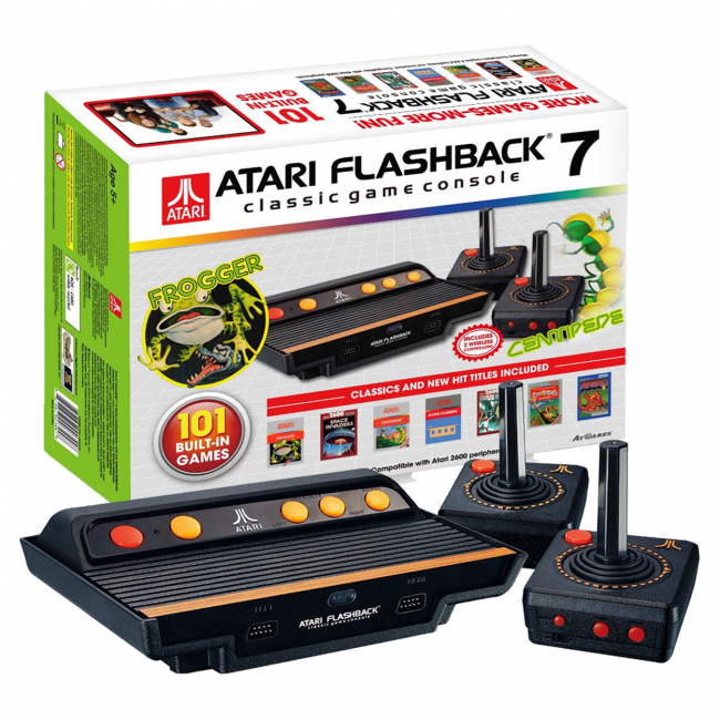 Atari Flashback 7 Classic Game Console with built-in 101 ...