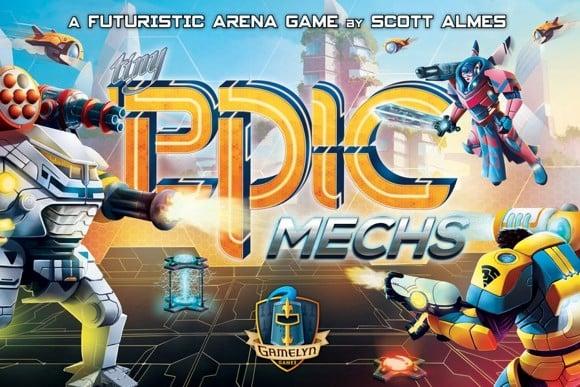 Tiny Epic Mechs - Brætspil (Engelsk)