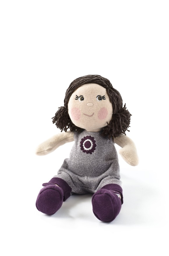 Smallstuff - Knitted Doll 30 cm - Luna