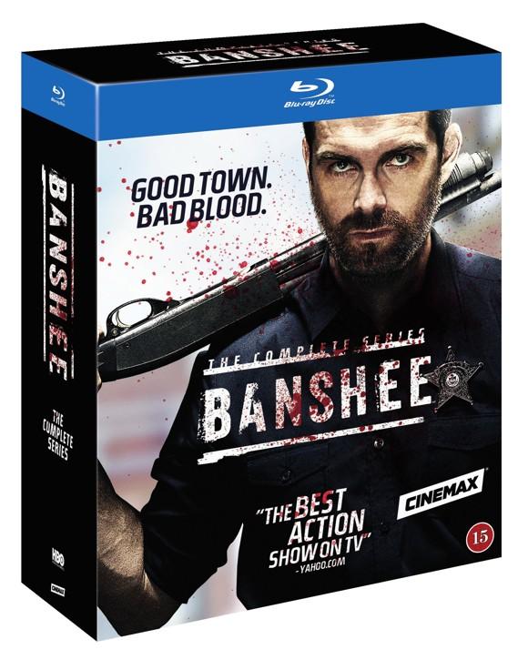 Banshee - Den komplette serie (Blu-Ray)