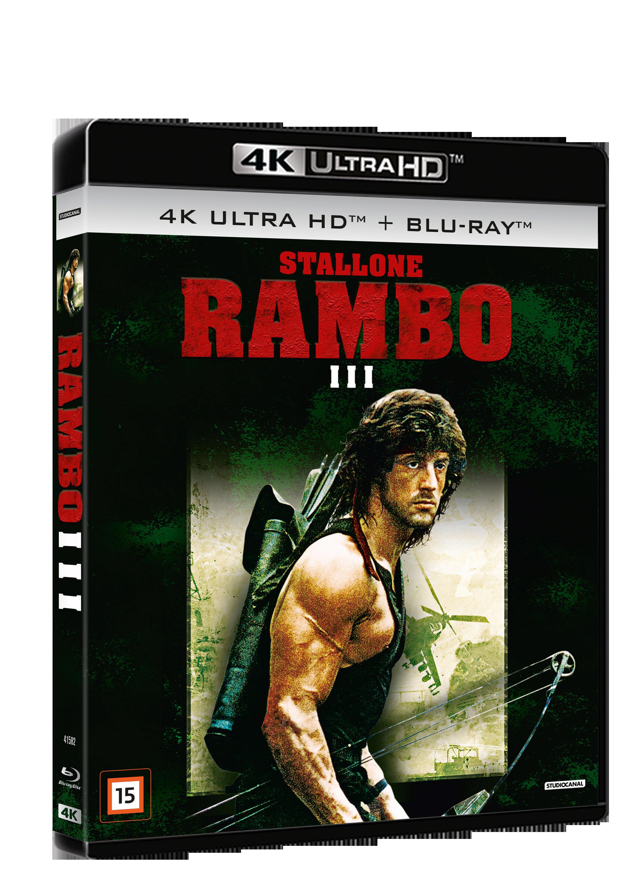 Buy Rambo 3 4k Incl Shipping