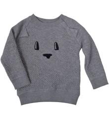PAPFAR - Embossed Sweat Sweatshirt
