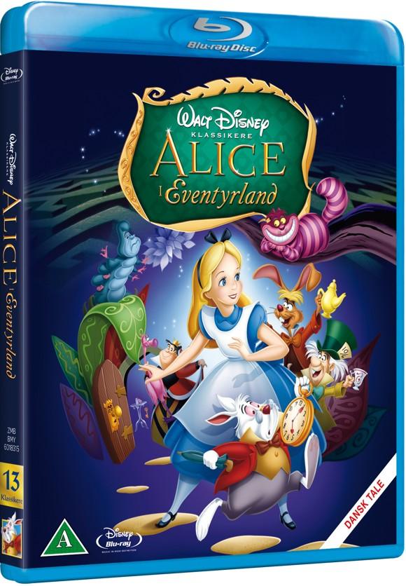 Disneys Alice in Wonderland - 60th Anniversary Edition (Blu-Ray)