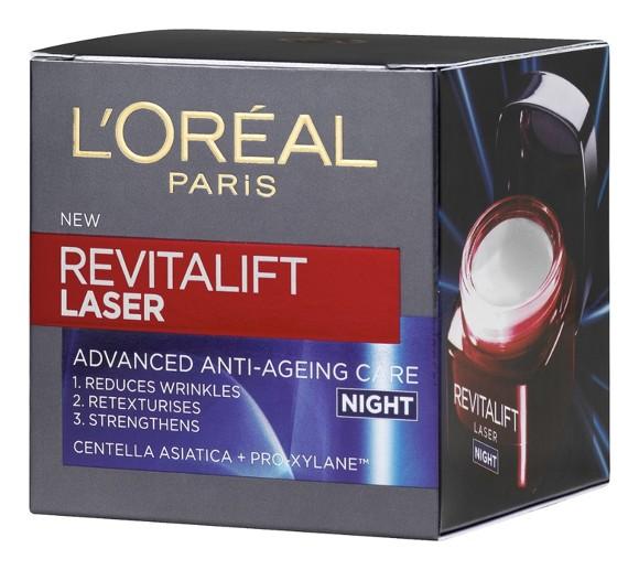 L'Oréal - Revitalift Laser Advanced Anti-Ageing Care Night Cream 50 ml