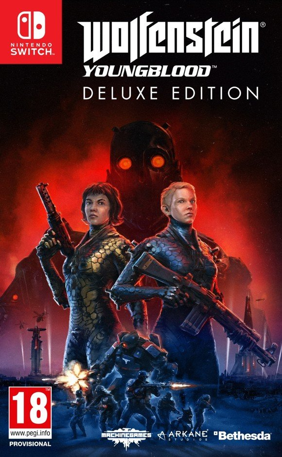 Wolfenstein: Youngblood (Deluxe Edition) (Code-in-a-box)