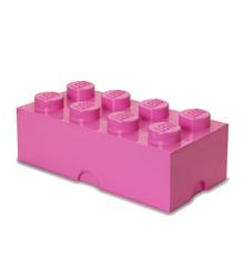 Room Copenhagen - LEGO Opbevaringskasse Brick 8 - Pink