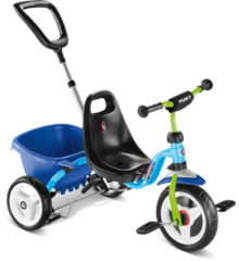 PUKY - Cat 1 S Tricycle - Blue/Kiwi (2216)