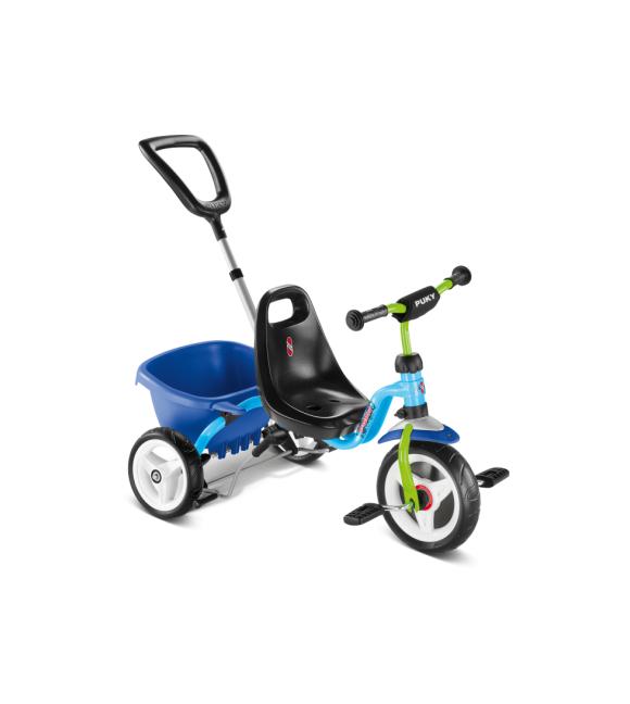PUKY - Cat 1 S Tricycle - Blue/Kiwi (2216)