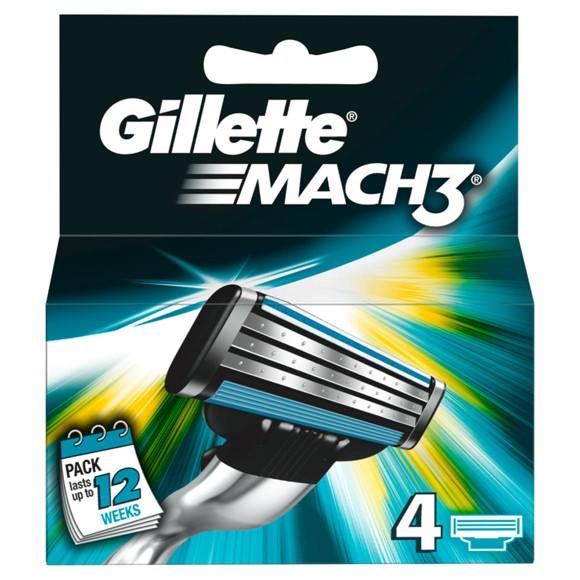 Gillette - Mach3 Blades 4-pack
