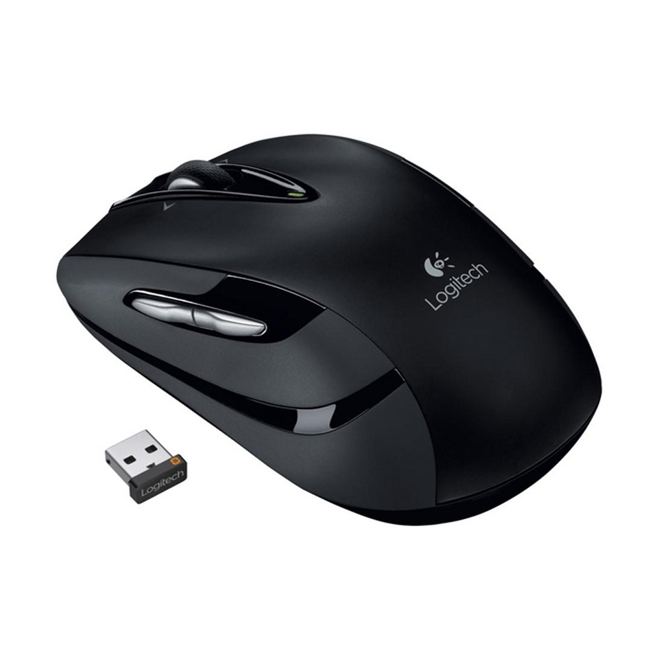 Logitech - M545 Wireless Mouse - BLACK