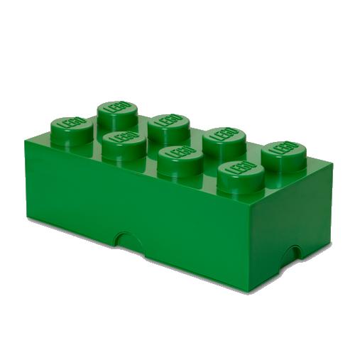 Room Copenhagen - LEGO Storeage Brick 8 - Dark Green (40041734)