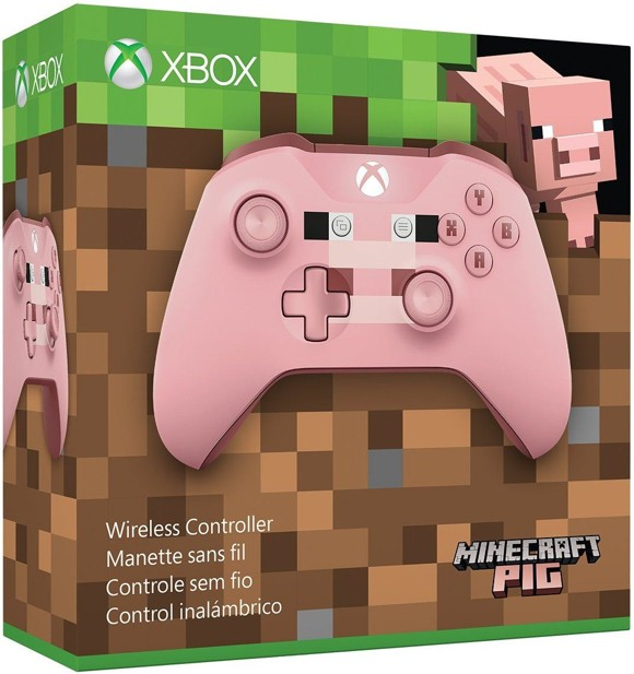 Xbox One Wireless Controller - Minecraft Pig - Limited Edition