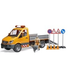 Bruder - MB Sprinter municipal with Light and Sound, driver and accessories (BR2537)