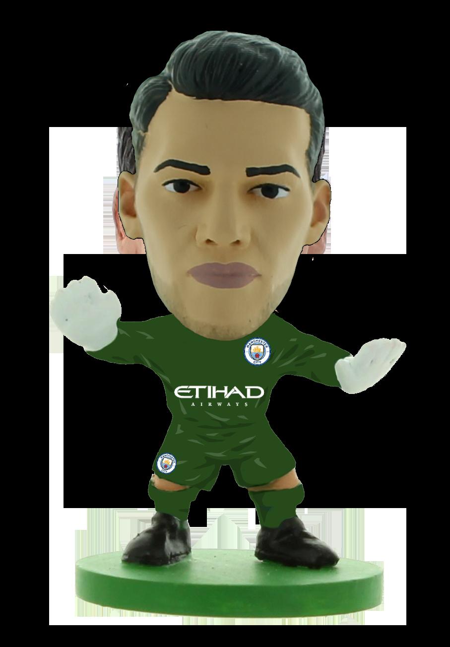 Soccerstarz - Man City Ederson - Home Kit (2020 version)