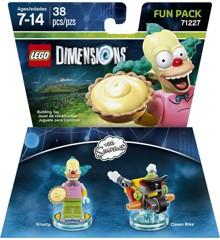 LEGO Dimensions: Fun Pack - Krusty (Simpsons) (71227)