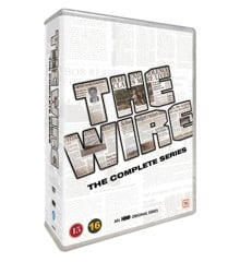 The Wire - Den Komplette Serie - DVD