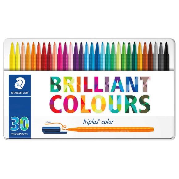Staedtler - Triplus Color, 30 pcs in tinbox (323 M30)