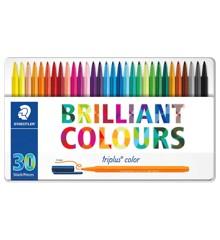 Staedtler - Triplus Color - 30stk. i metalæske