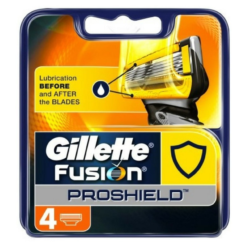 Gillette - Fusion Proshield Blades 4 Pcs