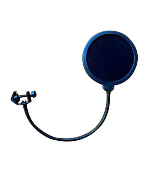 Profile - MS-18 PLUS - Dobbel Nylon Pop Filter Til Mikrofoner