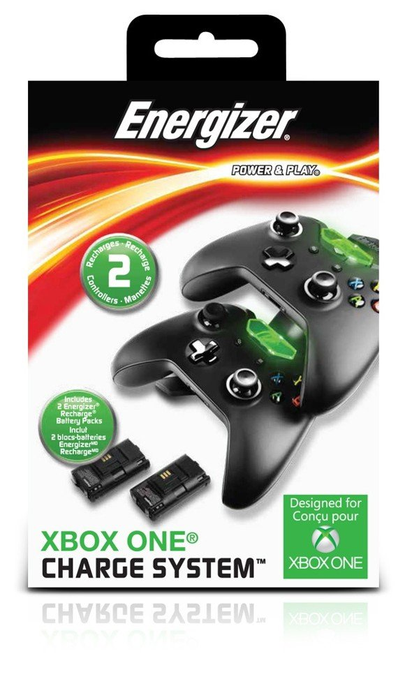 Xbox One Energizer 2X Charging System (Black)