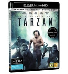 The Legend Of Tarzan (4K Blu-Ray)