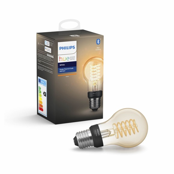 Philips Hue - E27 Filament A60 - White - Bluetooth