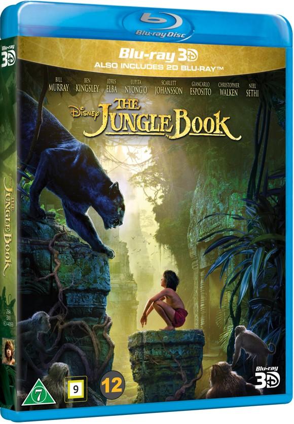 Junglebogen - Spillefilm 2016 (3D Blu-Ray)