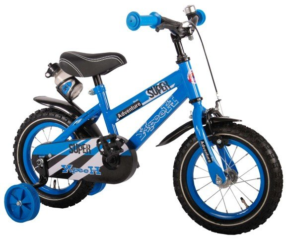 Volare - Super Blue 12 inch Boys Bicycle (71232)