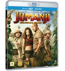 Jumanji: Welcome to the Jungle (3D Blu-Ray)