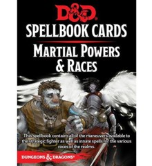 Dungeons & Dragons - 5th Edition - Spell Deck Martial Power & Races (D&D)