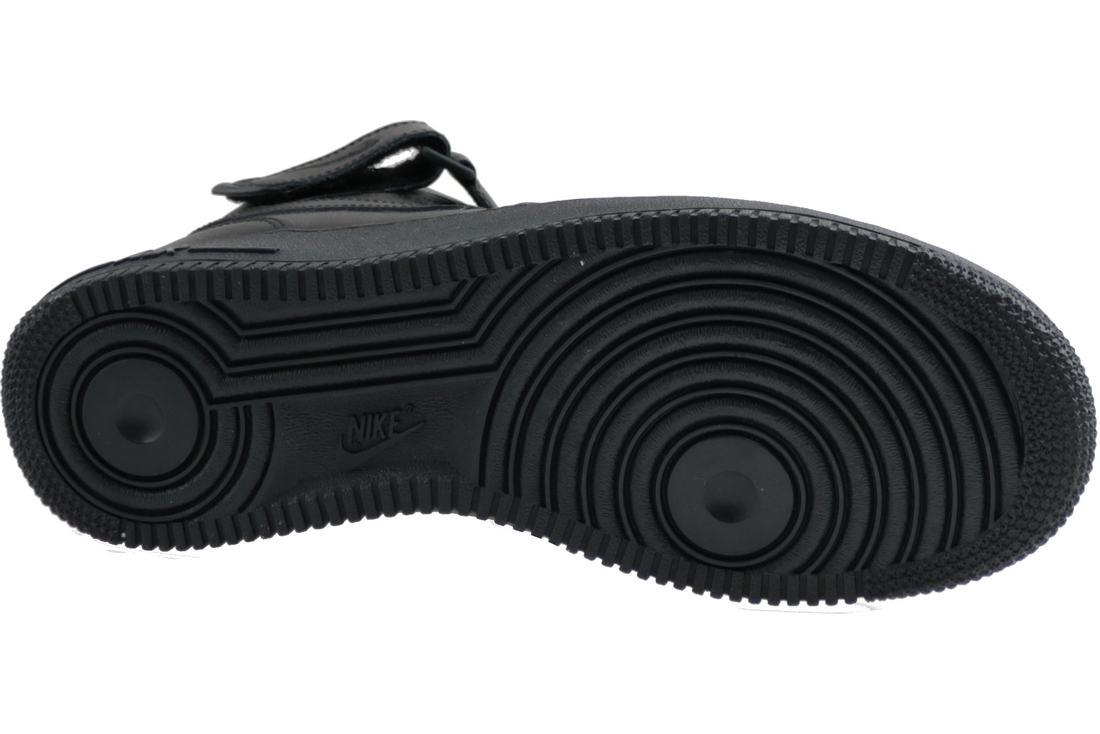 Osta Nike Air Force 1 Mid 07 315123 001, Mens, Black, sneakers