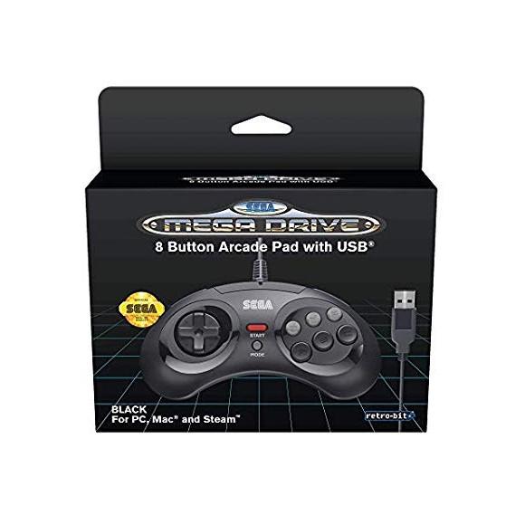Retro-Bit SEGA Mega Drive 8-B USB