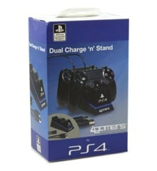 Playstation 4 Charge Play and Charge Cables - Black