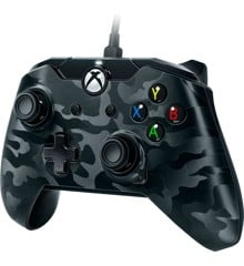 PDP Deluxe Wired Controller Black Camouflage
