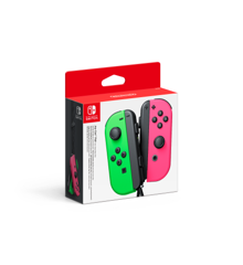 Nintendo Switch Joy-Con Controller Pair - Neon Green / Neon Pink (L + R)